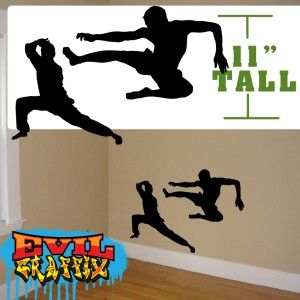 Martial Arts Graphics Wall Decor Martial Arts Decals Wall Martial Arts