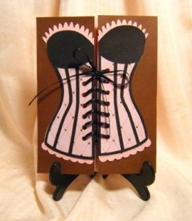 Handmade Greeting Card Bachelorette Party Invitations 6 Girley