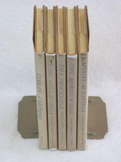 Set of 5 Books by Kahlil Gibran HC DJ