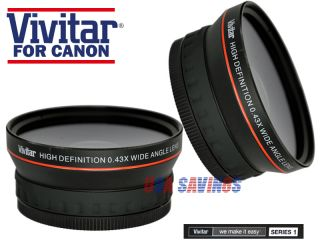 43x 72mm Wide Angle Lens with Macro for Canon 24 120mm Lens