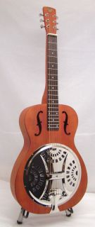 Used Mint Gibson Hound Dog Squareneck Dobro Guitar w Padded Carry Case