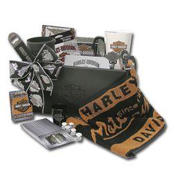 Harley Davidson Gift Basket Hdl 19970 Dice Cup Shot Glass Towel Mug