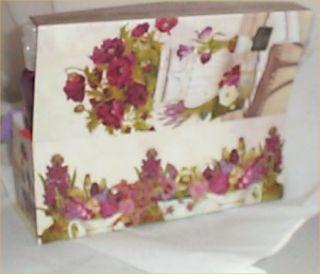 Gift Basket Spa Harvest Berry Ladys Trinket Box Gifts Lotion Shower