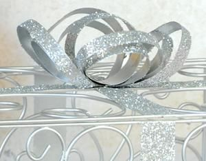 Silver Wedding Card Box Reception Gift Card Money Box