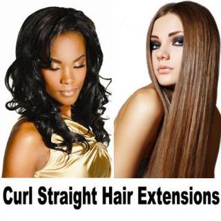 Cutie One Piece Long Straight Curly 3 4 Full Head Clip in Hair
