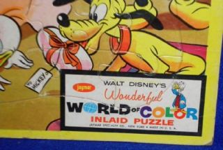 Walt Disney Prod Puzzle Mickey Mouses Birthday Party