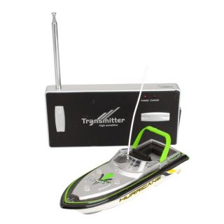 New Green Radio Remote Control Super Mini Speed Boat Dual Motor Kid