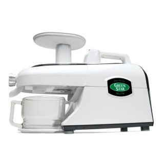 Green Star Elite Jumbo Twin Gear Juice Extractor GSE 5000
