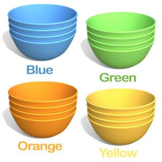 Green Eats Snack Bowls 4 Pack for Kids Eco Friendly/Buy $50.00+ get