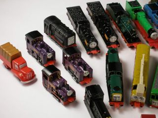 80 Vehicles Ertl Thomas Tank Engine Trains Lot Plus Playset
