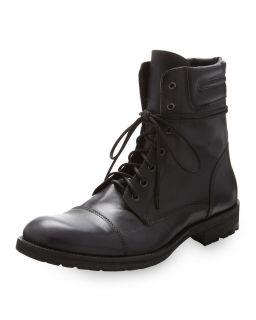 True Religion Domino Lace Up Boot Black