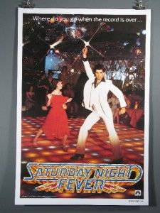 Saturday Night Fever Large Poster John Travolta Disco