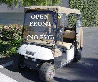 Golf Cart 2 Passenger 3 Sided Enclosure Club Car Precedent DS EZGO