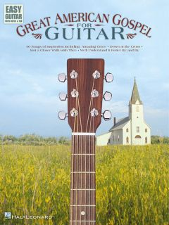 Gospel for Easy Guitar Tab Sheet Music Chords 60 Songs Book New