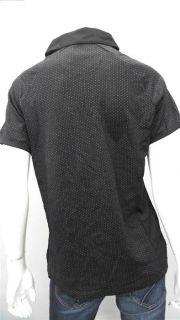Greg Norman Ladies Womens L Lightweight Shirt & Top Multi Color Black