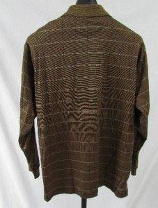 Greg Norman Mens Long Sleeve Golf Shirt XL Great