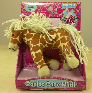Breyer Horse Ponies Gone Wild Little Plush Gina 7120 Pony Gals New on