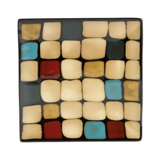 Gourmet Basics by Mikasa Belmont Square Salad Plate with Dots