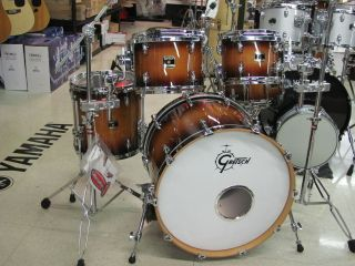 Gretsch Renown Maple Drum Set 22 4 Piece Shell Pack Autumn Burst Abby