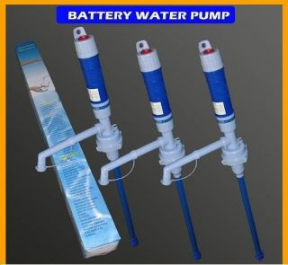 Liquid Transfer Pump Electric Siphon for Gas Water Liquids Gray