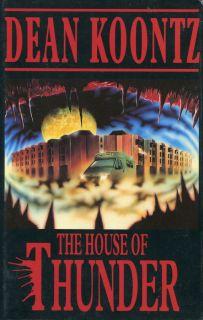 The House of Thunder Dean Koontz Good Hardcover 0747204802