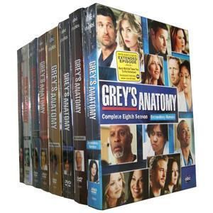 BRAND NEW Greys Anatomy Season 1 8; 1 2 3 4 5 6 7 8 Dvd Complete Box