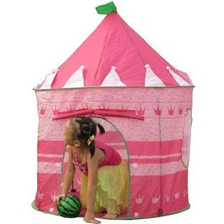 Princess Castle Play House Portable Tent Christmas Gift for Girl, Kids