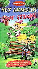 Hey Arnold   Love Stinks VHS, 1998