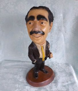 Esco Chalkware Statue Figure Groucho Marx in Tuxedo with Cigar
