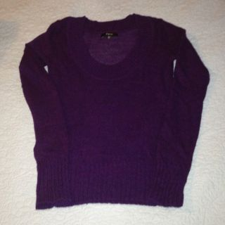 Express Sheer Wool Blend Sweater XS