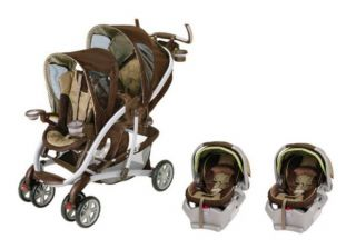 Graco Quattro Tour Duo Stroller Twin Travel System