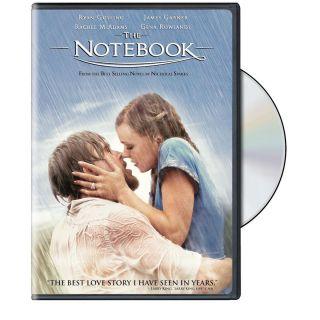 The Notebook DVD Brand New Ryan Gosling Rachel McAdams Widescreen