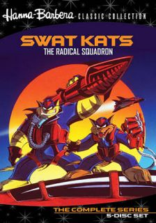 Hanna Barbera Classic Collection SWAT Kats The Radical Squadron DVD