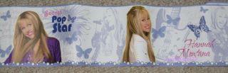 Hannah Montana Miley Cyrus Pop Star Wall Border