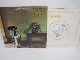 Gram Parsons GP 1973 WB Reprise MS 2123 0598 White Label Promo 33 RPM