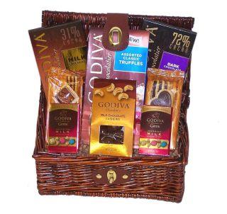 Chocolate Sinful Selection   Gourmet Holiday / Christmas Gift Basket