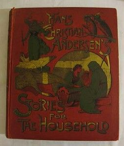 Scarce Antique Ornate Hans Christian Andersen 1893 1st