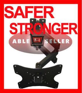CORNER TILT ARM SWIVEL LCD LED TV WALL MOUNT 23 24 26 30 32 36 37