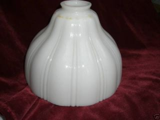 Glass Lamp Shades Vintage Gasolier Several Types