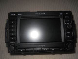 2007 Jeep Grand Cherokee 6 CD Player Radio GPS Rec Navigation System