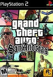 Grand Theft Auto San Andreas Brand New Sony PS2 Game