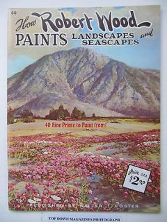 paint landscapes seascapes art instruction robert wood time left $