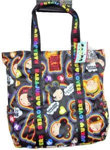 Harajuku Lovers UH O Large Rainbow Girls Travel Tote Bag Purse Style