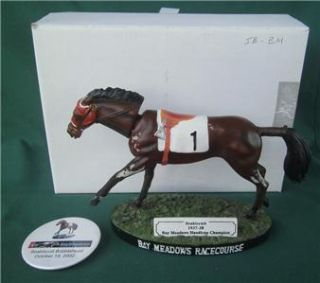 Horse Racing Bay Meadows Handicap Champion 1937 38 Button