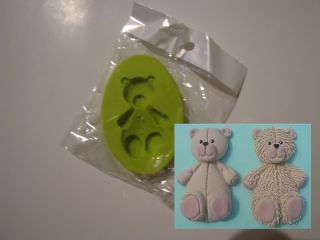 Handmade Craft of 3D Teddy Bear Silicone Mold