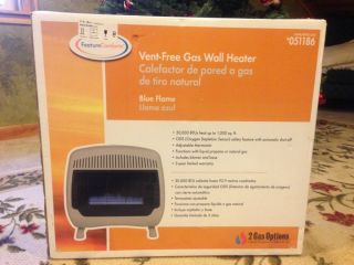 Vent Free Gas Wall Heater 30 000 BTU Excellent Condition