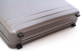 Aluminum Attache Case 17 Laptop Briefcase Hard Sided Portfolio