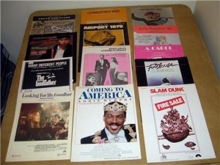 Large Lot 1970 80s Movies Footloose Godfather Star Wars Sheet Music