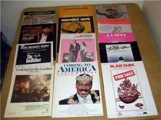 Large Lot 1970 80s Movies Footloose Godfather Star Wars Sheet Music