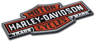 HARLEY DAVIDSON NOSTALGIC BAR & SHIELD BEVERAGE MAT   NEW